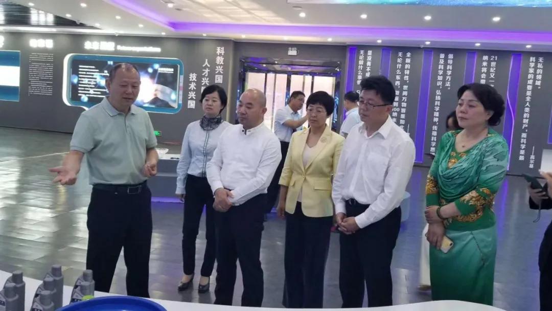 正威国际集团董事局主席王文银来荔实地考察纳米谷产业园项目