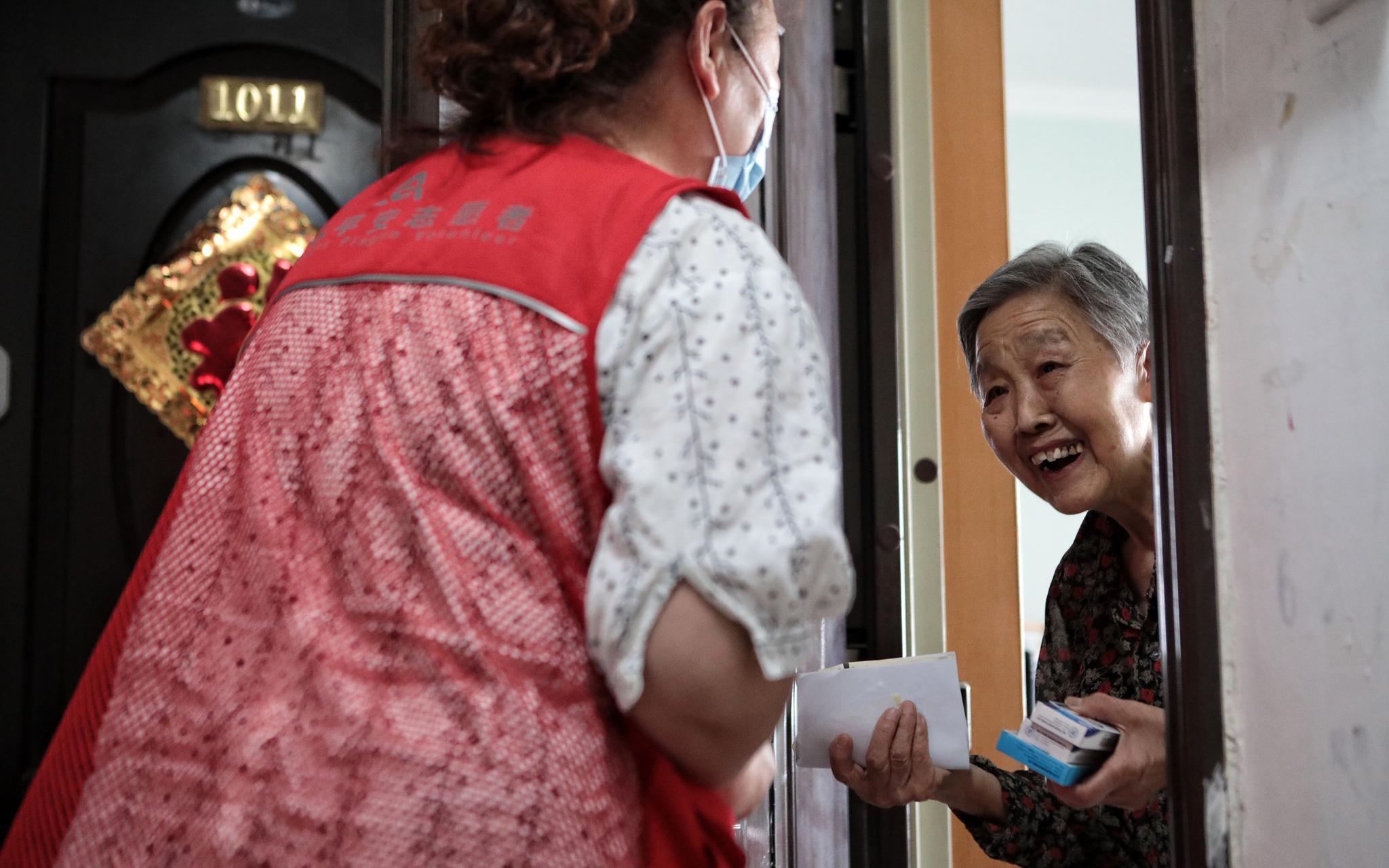 实地探访 北京封闭小区的生活之变图片