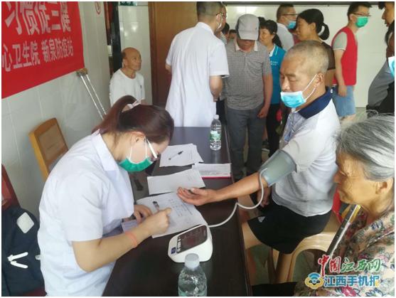 萍乡市人民医院组织医护人员到芦溪新泉乡开展送医下乡义诊