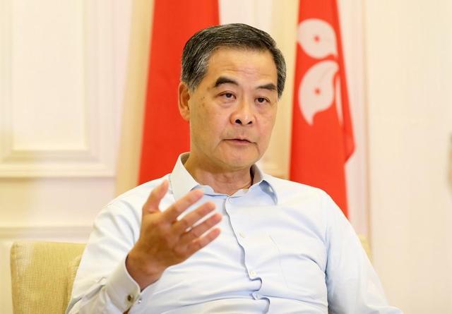 梁振英:涉港国安立法充分照顾香港高度自治和法律差异图片