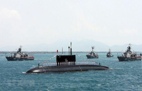 资料图片:越南海军装备的舰艇
