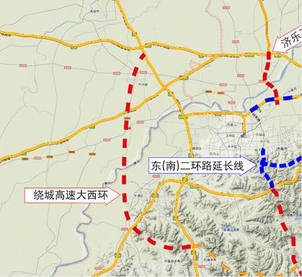 125.5亿!每公里1.2亿,济南大西环被四家单位联合中标
