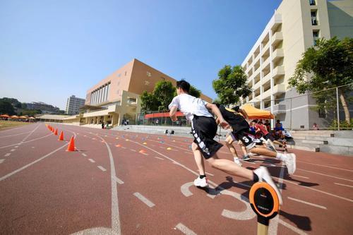 学生体质杠杠滴!广东科技学院在测评中位居前列