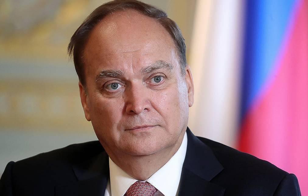 俄罗斯驻美大使阿纳托利·安东诺夫,图自塔斯社