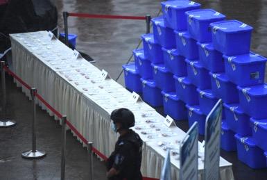 重庆集中销毁毒品超2700公斤 去年破获毒品刑案近五千起图片
