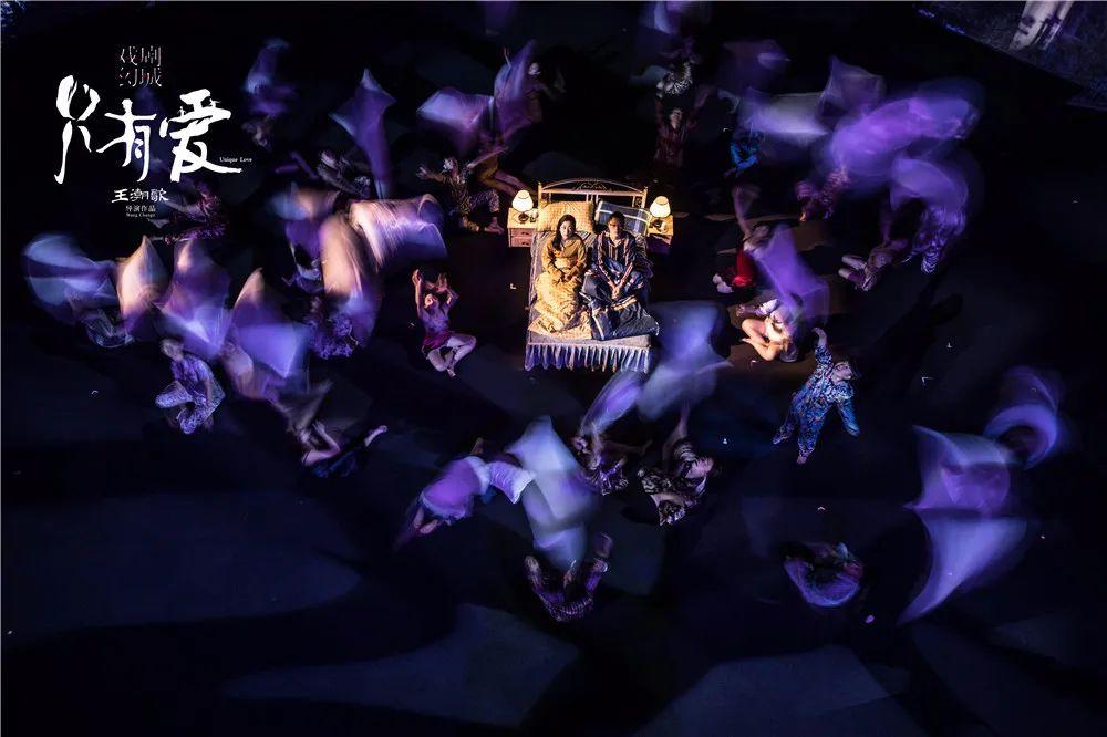 大丰荷兰花海《只有爱·戏剧幻城》公演,打造长三角文旅新地标