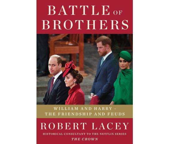 英国新书《兄弟之战》,揭示哈里、威廉两位王子的裂痕图片