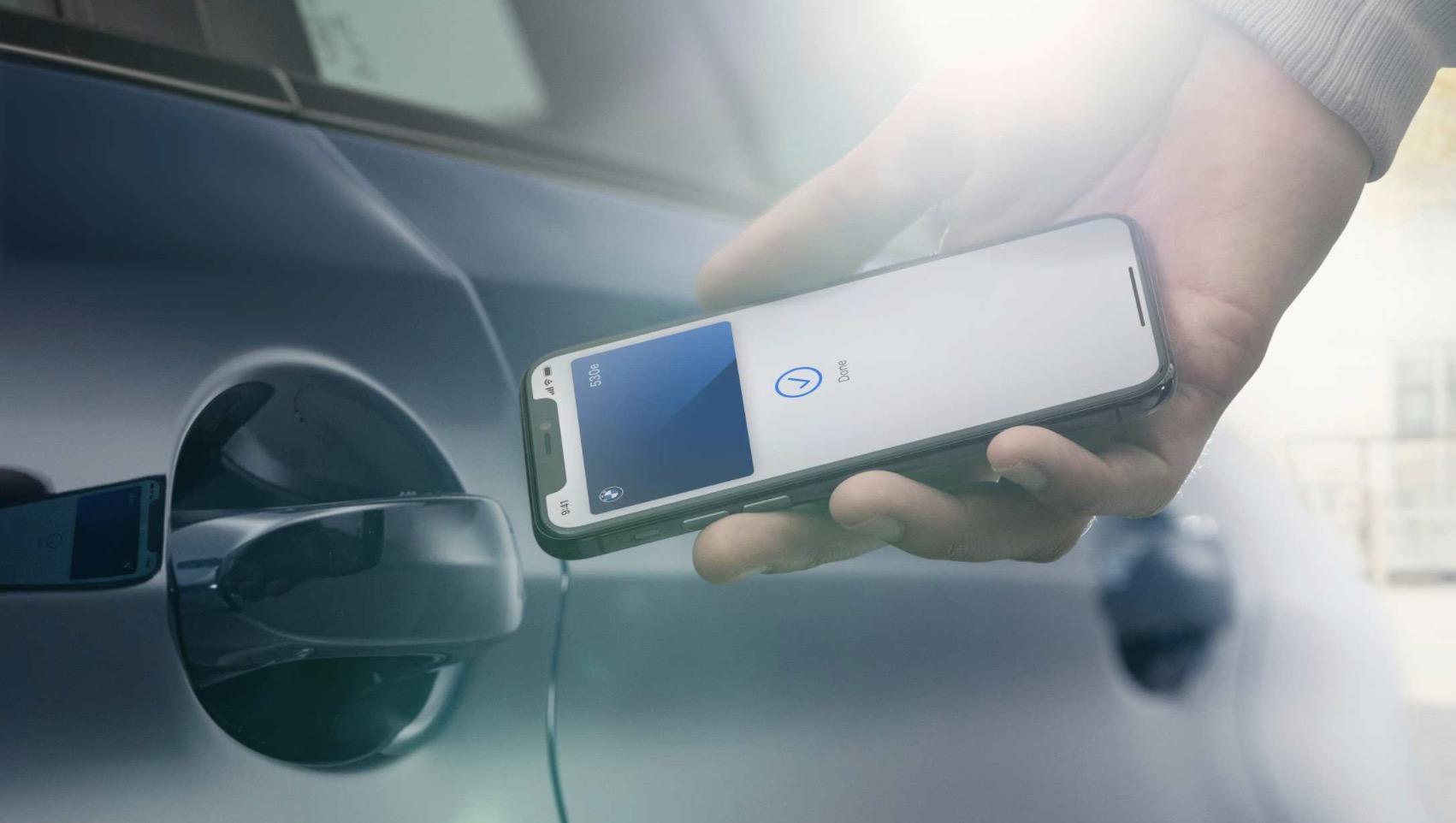 「股票配资」支持苹果数字钥匙股票配资BMW5图片