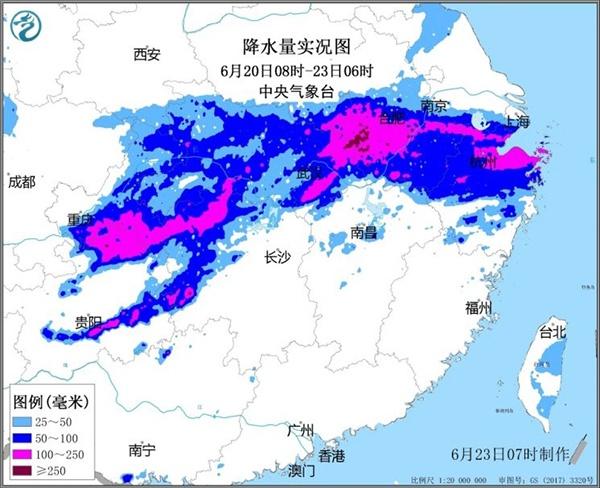 贵州至长江中下游迎入汛后最强降雨 未来三天依然猛图片