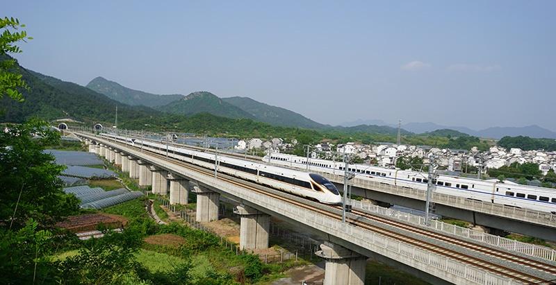 通沪铁路一期开通在即 长三角铁路7月1日起实施新图图片