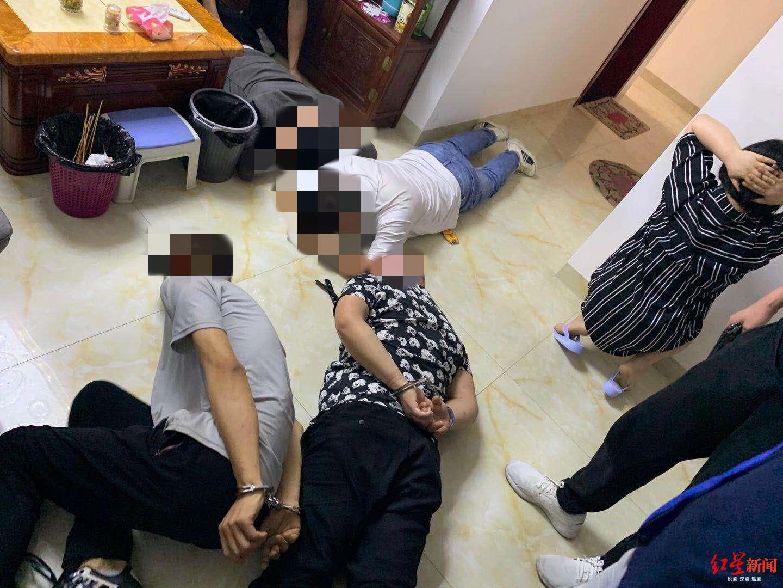 四川甘洛警方破获一起贩毒案,抓获嫌疑人18人