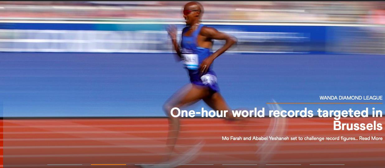"""男女1小时怎么""""玩""""?莫·法拉赫将挑战世界纪录图片"""