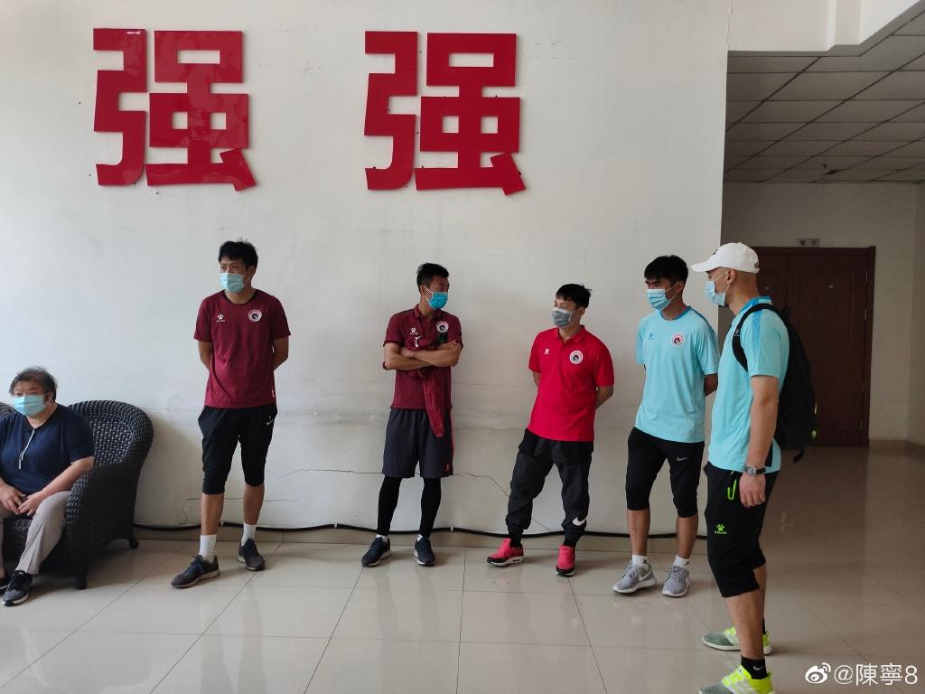 辽足球员多次前往体育局。