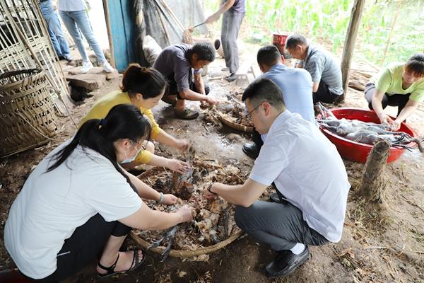 渝北区林业局积极开展消费扶贫 帮扶群众增收