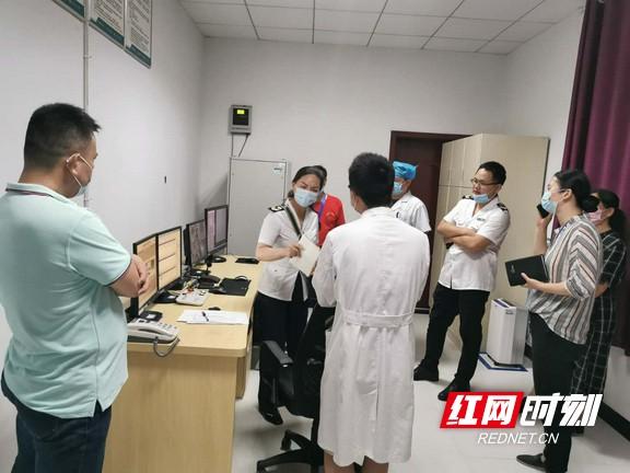 湖南省卫监局来张家界市开展放射卫生专项监督检查