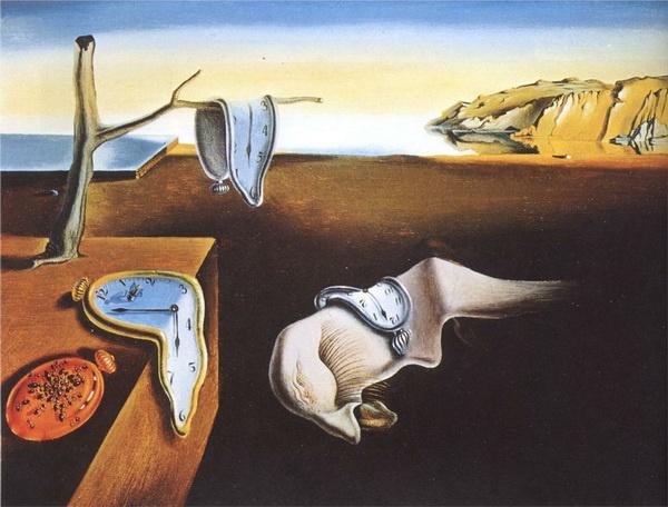 """苏珊娜这样描述疫情期间的感受,""""隔离让我明白了达利《熔化钟表》的意义。"""""""