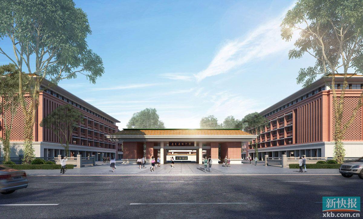 广州北站安置区首批工程预计年底交付 广雅中学花都校区第二批工程将于年底建成