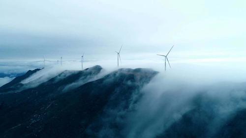 总装机容量160MW!韶关乳源大布风电场全部并网发电