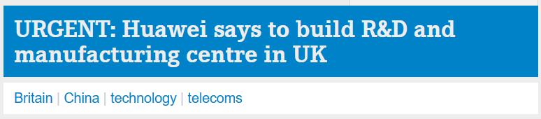 摩天开户:刚刚华为在英国取得重摩天开户大图片