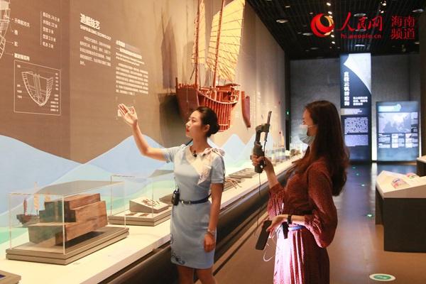 """中国(海南)南海博物馆直播探索西沙沉船的""""前世今生"""""""