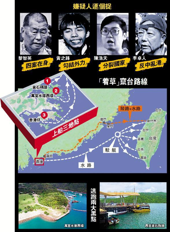 你知道潜天富注册逃的香港黑暴分子多有,天富注册图片