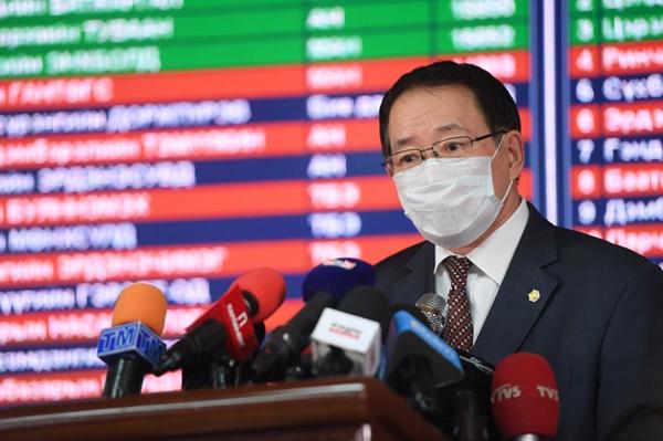 蒙古人民党在议会选举中获绝对多数 可单独组阁