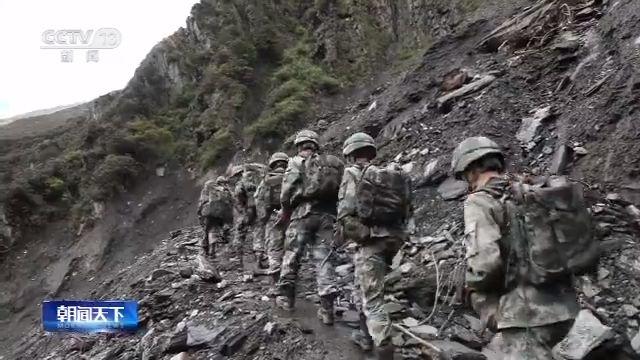 高德平台,军区边防官兵海拔4500米宣高德平台图片