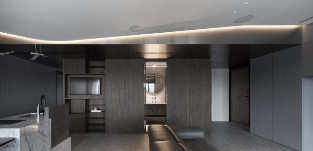 197平米新房,四居室装修才花48万元,邻居看了羡慕不已!-西派国际装修