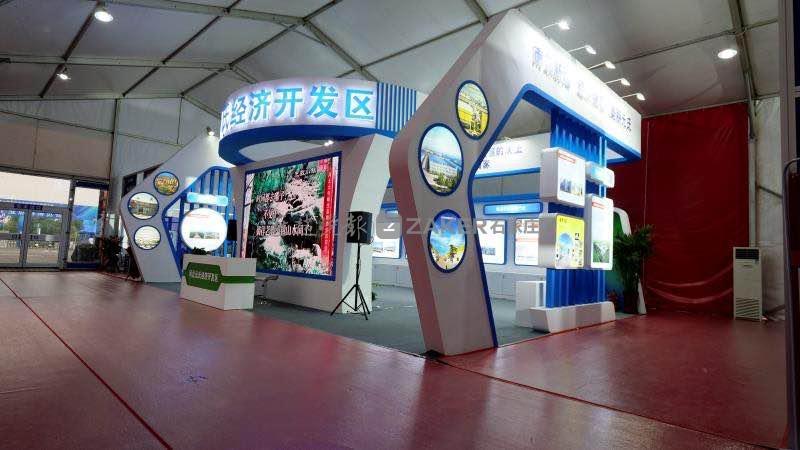 1:5的天宫一号目标飞行器模型来了……元氏工业旅游博览会28日正式开幕