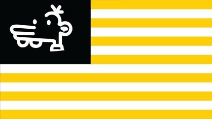 """所谓""""美国国旗修改稿""""资料图,图源:推特"""