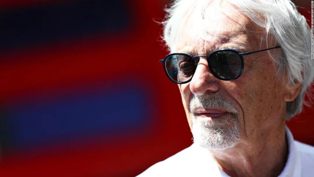 F1前首席执行官伯尼·埃克莱斯顿 图源:BBC