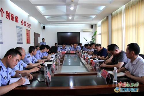 省公安厅交叉审计组成员到黎川县公安局开展审计工作(图)