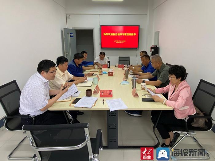 泰安市贸促会赴山东科技大学(青岛校区)对接2020中国(泰山)国际矿业装备与技术展览会有关事宜