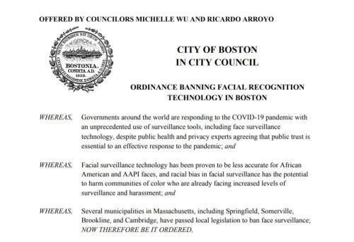 """波士顿加入""""禁止人脸识别""""城市阵列,直接掐断渠道源头"""