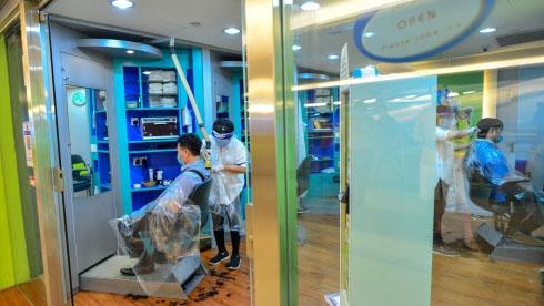 纽约理发店复工剪头1000美元