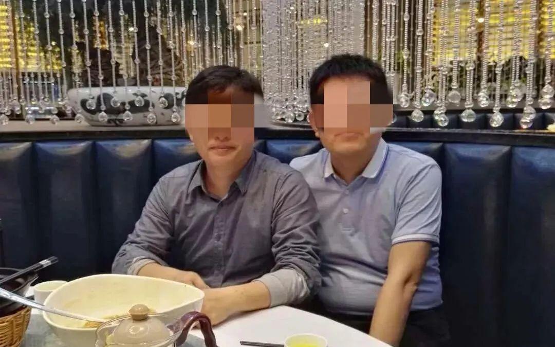 """至道学宫创始人""""白云先生""""姚玉祥(左),受访者供图"""