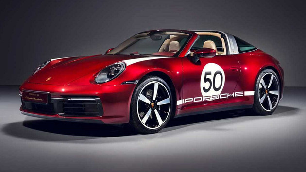 保时捷911 Targa 4S限量版官图 限量992台/搭载3.0T动力