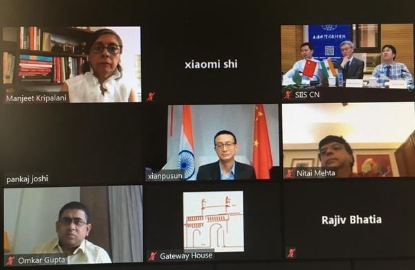 中国驻孟买总领馆与上海、孟买智库联合举办疫后发展云研讨会