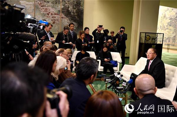 中国常驻联合国代表张军:世卫组织充分肯定中国防控疫情的有力举措