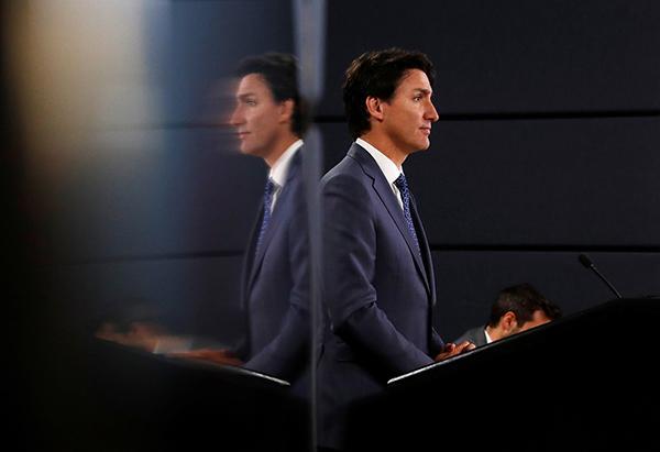 特鲁多承认加拿大仍存在种族歧视,政府正采取行动打击