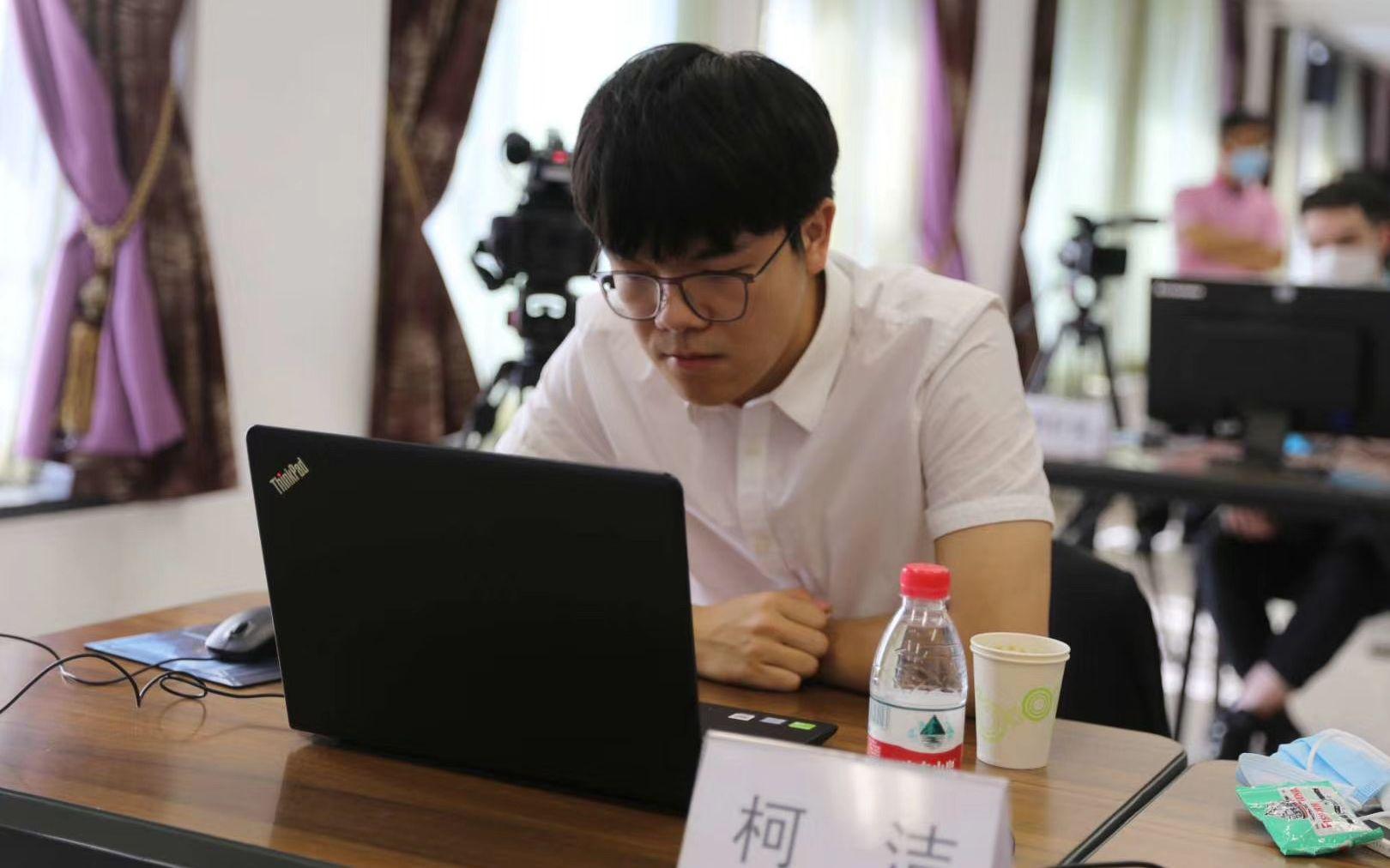 「摩天登录」对决柯洁摩天登录亮相中国棋手4图片