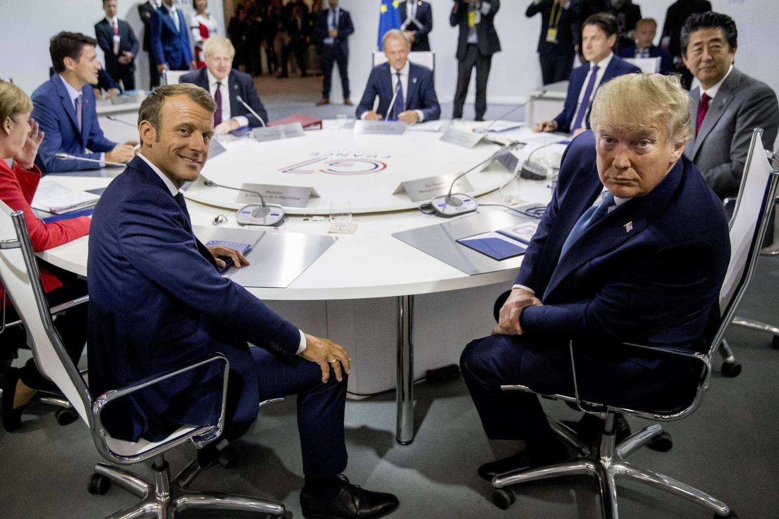 「摩天娱乐」频|G7要变G摩天娱乐11爱退群图片