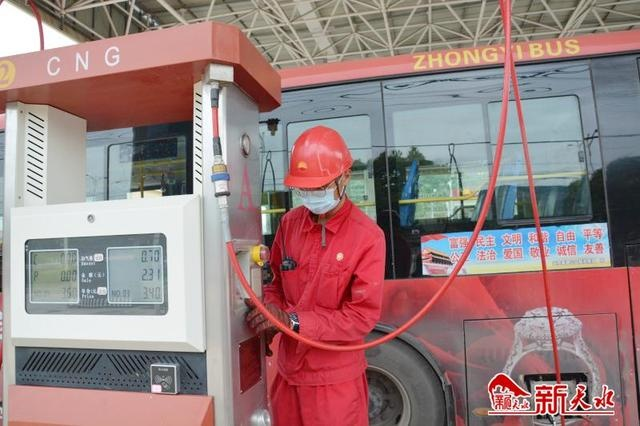 天水中石油压缩天然气标准站投产运行