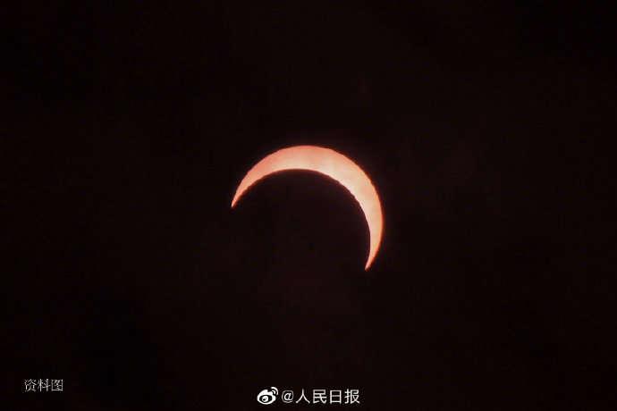 紫金山天文台:金边日食等天象闪耀六月天宇