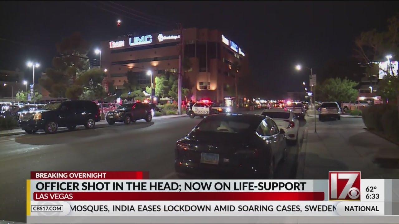 美国一名警察驱散示威者期间头部中枪 生命垂危