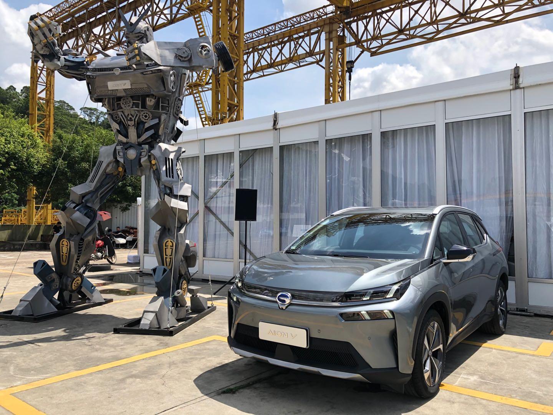 """试驾广汽新能源埃安V:树立""""智能车""""标杆"""