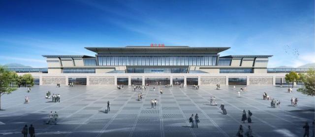 鲁南高铁济宁北站开工 预计2021年底投入使用