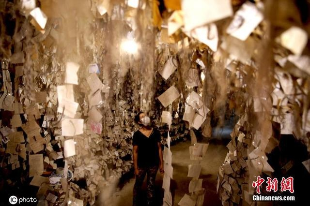 土耳其陶艺家建头发博物馆 收藏1.6万名女性发丝