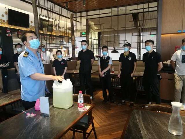 北京昌平餐饮单位要配专职消杀员