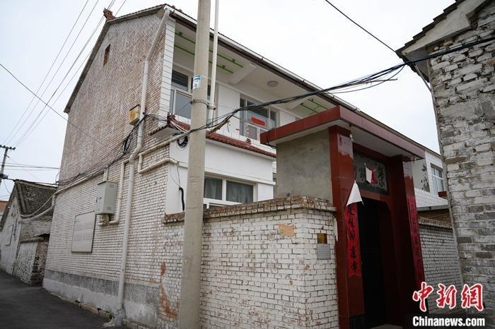 6月28日,山西省长治市平顺县西沟村,申纪兰的农家小院已人去楼空。 中新社记者 韦亮 摄